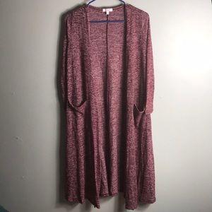 LulaRoe Sarah vest size XS